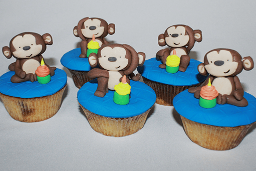 Cupcakes animales
